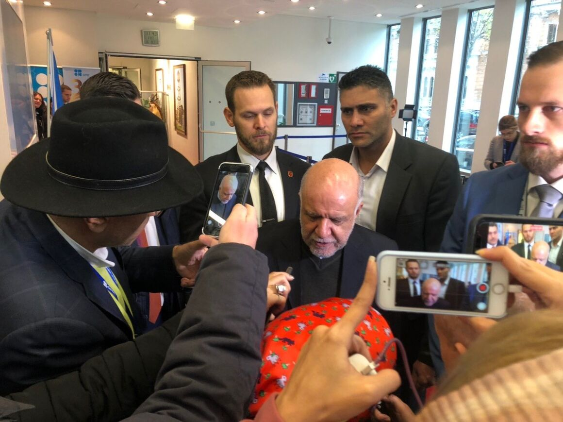 Zangeneh Satisfied with Talks at OPEC 177th Conference