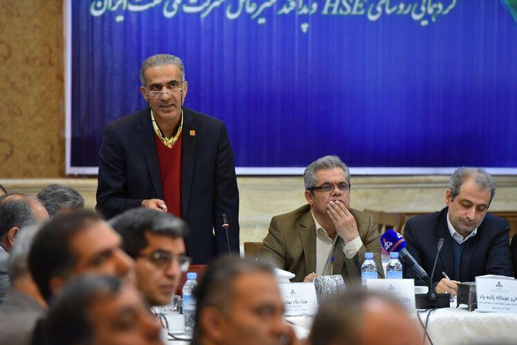فرزاد نژاد بهادری، رئیس محیط زیست HSE شرکت ملی نفت ایران