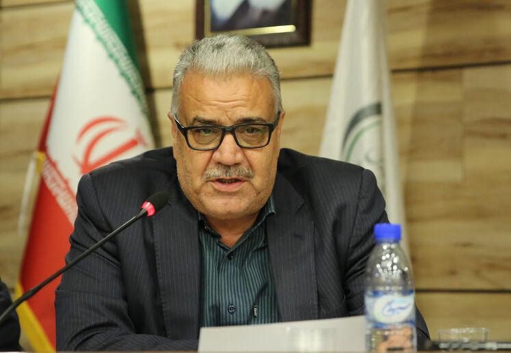 علیرضا شمیم، مدیرعامل شرکت مبین انرژی خلیج فارس