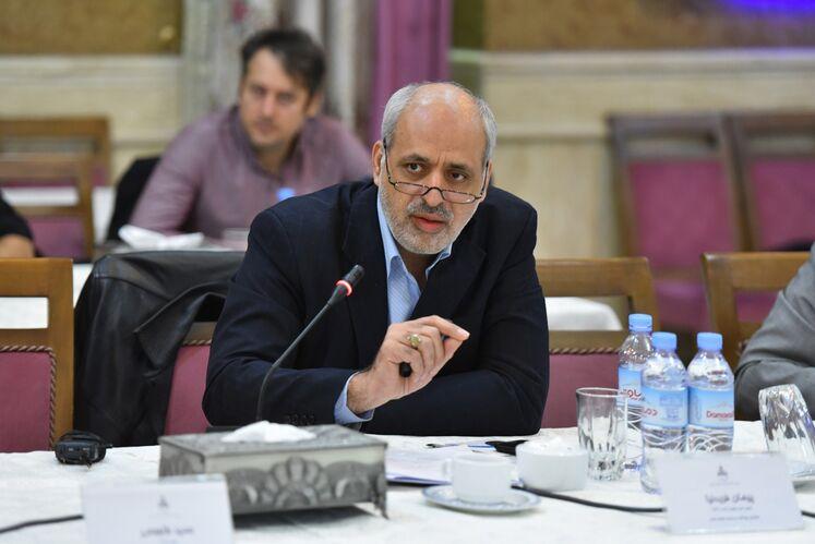 پیمان فریدنیا، رئیس امور سلامت کار و HSE سازمان بهداشت و درمان صنعت نفت