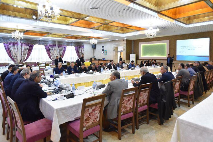 دومین روز ششمین گردهمایی مدیران اچاسیی شرکت ملی نفت ایران