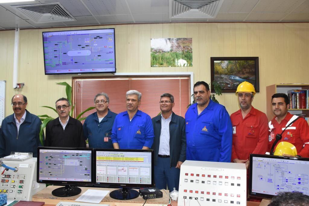 پروژه جمعآوری گازهای کمفشار درود ۳ راهاندازی شد