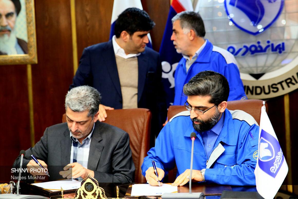 آیین امضای تفاهمنامه توسعه ناوگان دوگانهسوز