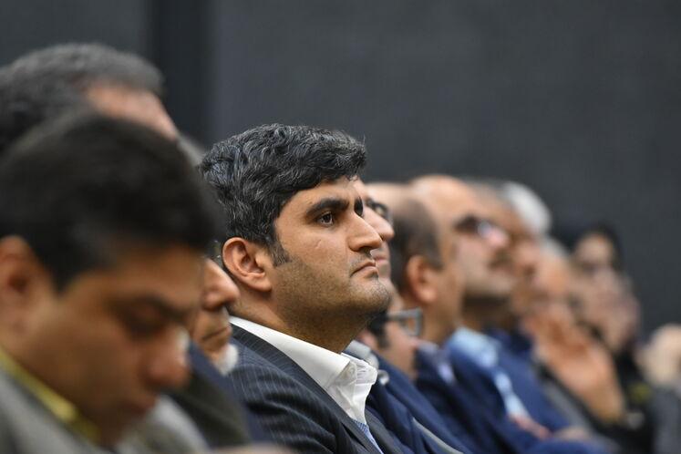 علیرضا صادق آبادی، مدیرعامل شرکت ملی پالایش و پخش فرآوردههای نفتی در همایش سیانجی، فرصت توسعه پایدار