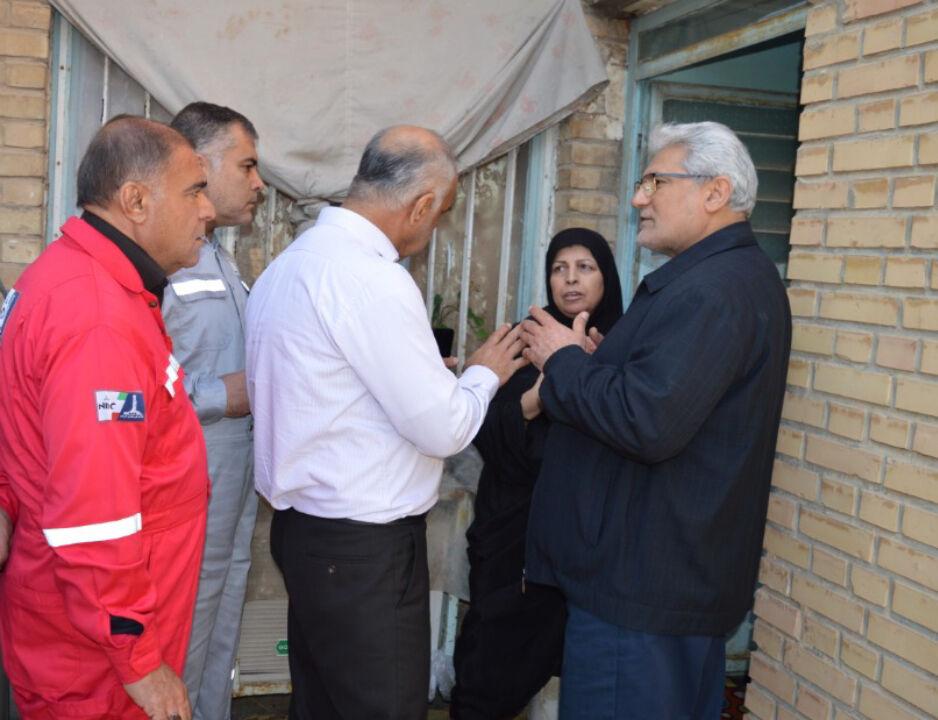 ارائه خدمات امدادی اروندان به مردم خرمشهر و شادگان