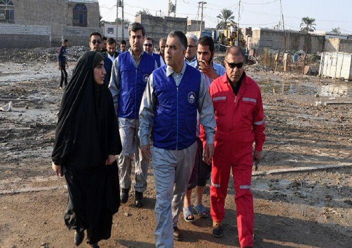 استقرار شبانهروزی نیروها و تجهیزات شرکت ملی نفت ایران در کارون