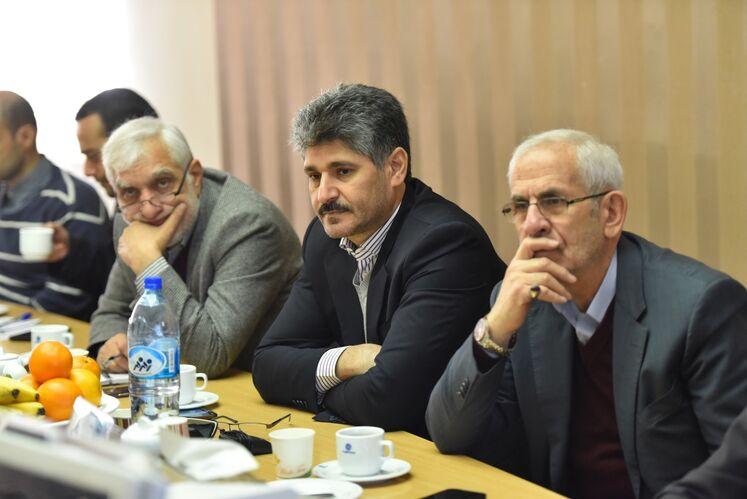 بازدید تورج دهقانی، مدیرعامل شرکت متن از کارگاههای دو شرکت پمپساز در تبریز