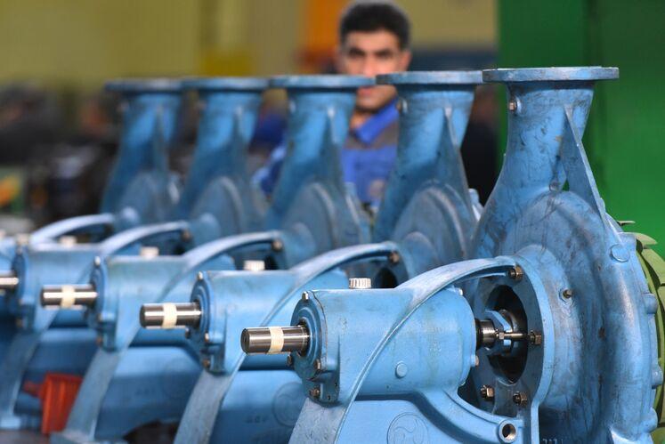 ساخت داخل پمپهای صنعتی،  شرکت پمپیران تبریز