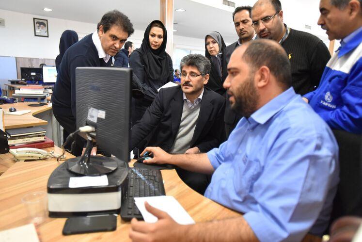 بازدید تورج دهقانی، مدیرعامل شرکت متن از دفتر طراحی و مهندسی شرکت پمپیران تبریز
