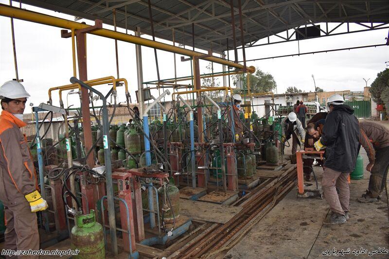 تشدید نظارتها بر روند تامین و توزیع سیلندرهای گاز مایع در منطقه زاهدان