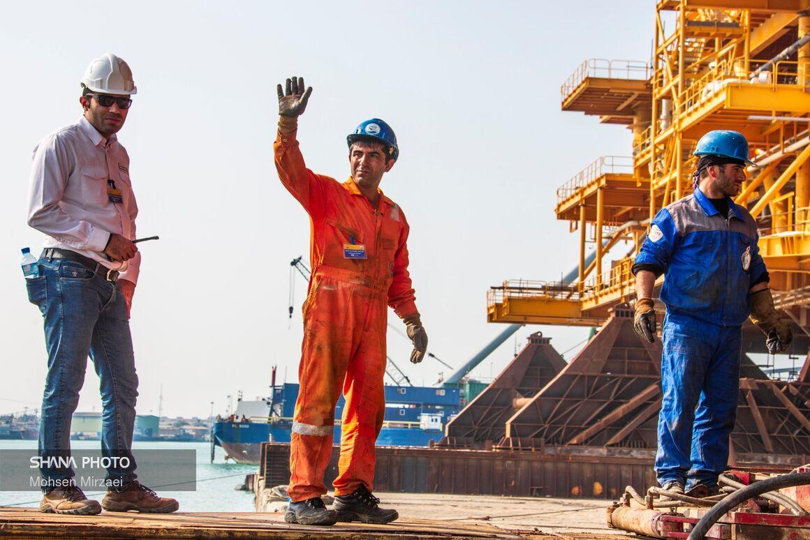 قدردانی مدیرعامل نفتوگاز پارس از دستور زنگنه برای فوقالعاده تخصصی کارکنان فراساحل