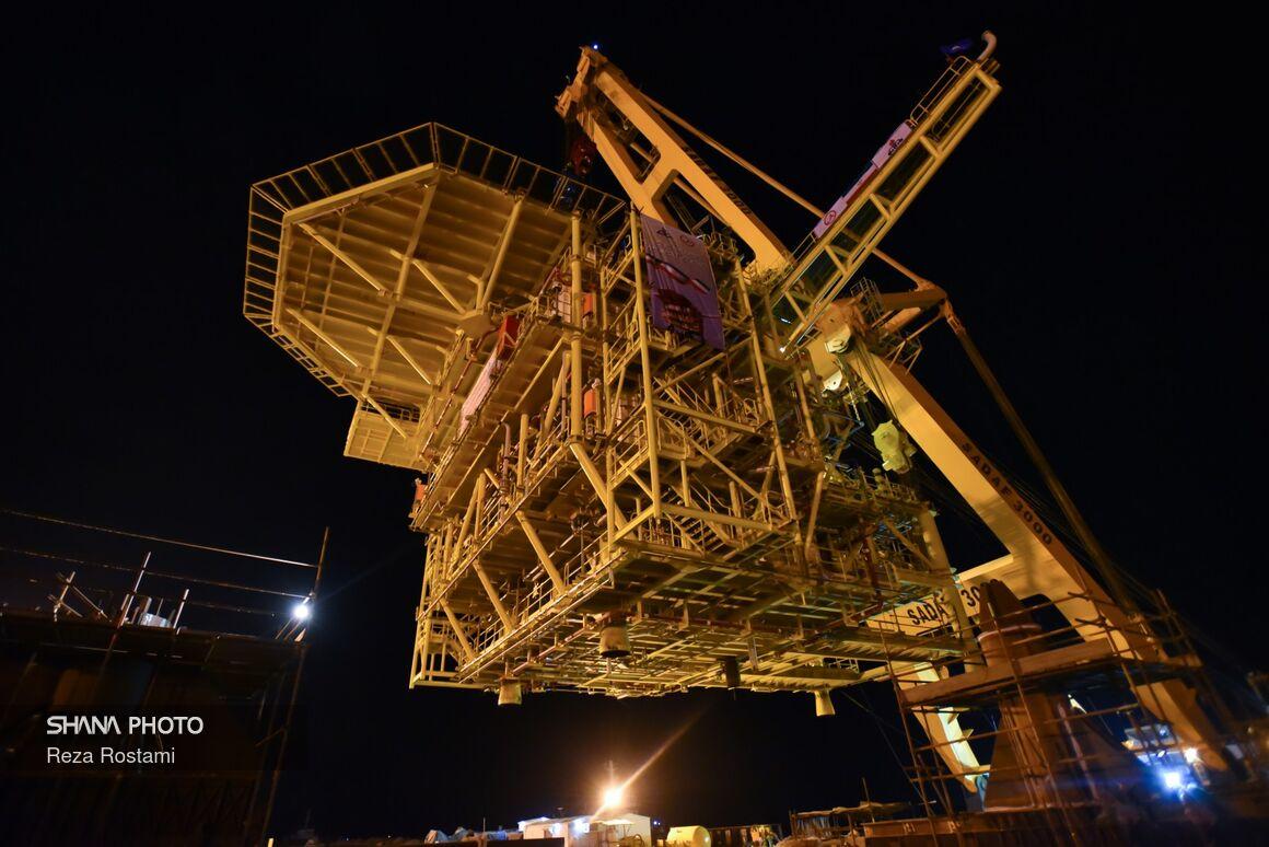 آنچه از سکوی سرچاهی جدید میدان نفتی سلمان باید بدانید