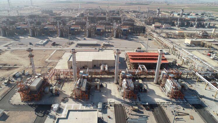 واحد بخار، پالایشگاه گاز بیدبلند خلیج فارس