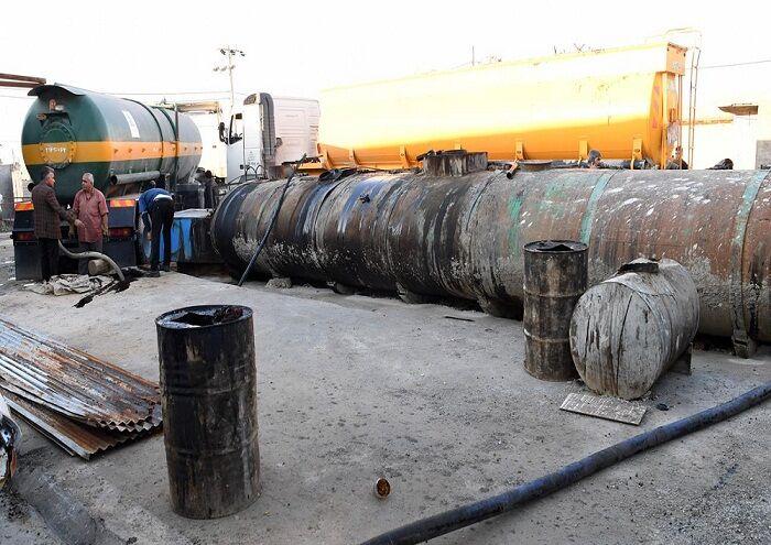 خنثیسازی سرقت نفت خام از خطوط لوله انتقالی در اهواز