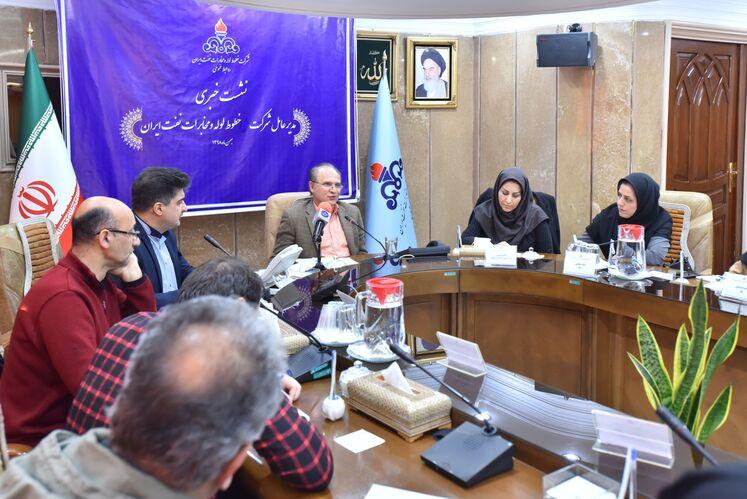 نشست خبری مدیرعامل شرکت خطوط لوله و مخابرات نفت ایران