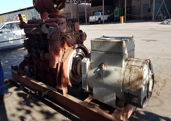 تعمیر ۴ دستگاه دیزل ژنراتور در واحد تعمیرات سیری