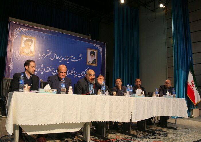 حل مسائل کارکنان منطقه ویژه پارس پیگیری میشود
