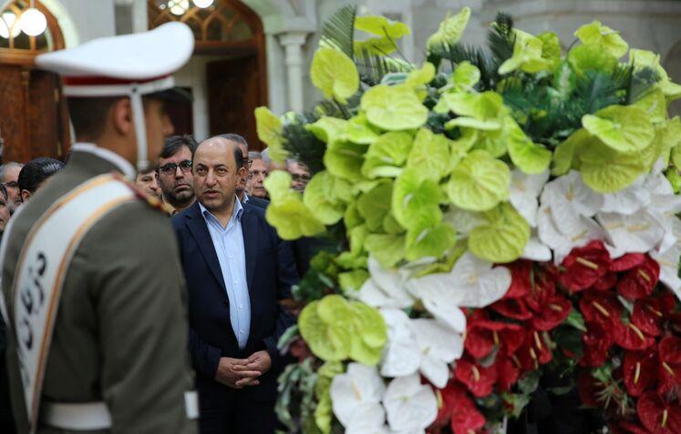 حبیب الله سمیع،مدیر عامل سازمان بهد اشت و درمان  صنعت نفت