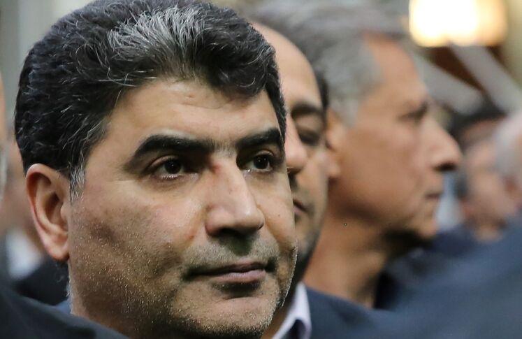 رامین قلمبر دزفولی،مدیر پشتیبانی ساخت و تامین کالای شرکت ملی نفت ایران