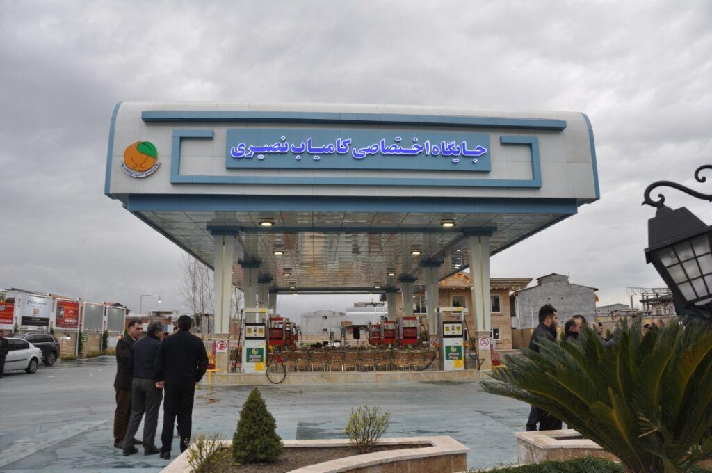 اجرای طرح نظارت بر مجاری عرضه سوخت در منطقه چالوس