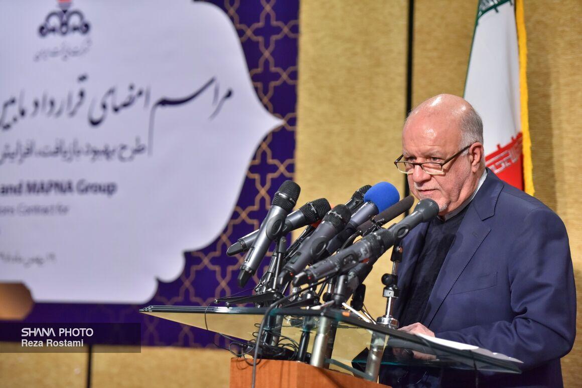زنگنه: ایده شرکتهای اکتشاف و تولید ایرانی جا افتاده است