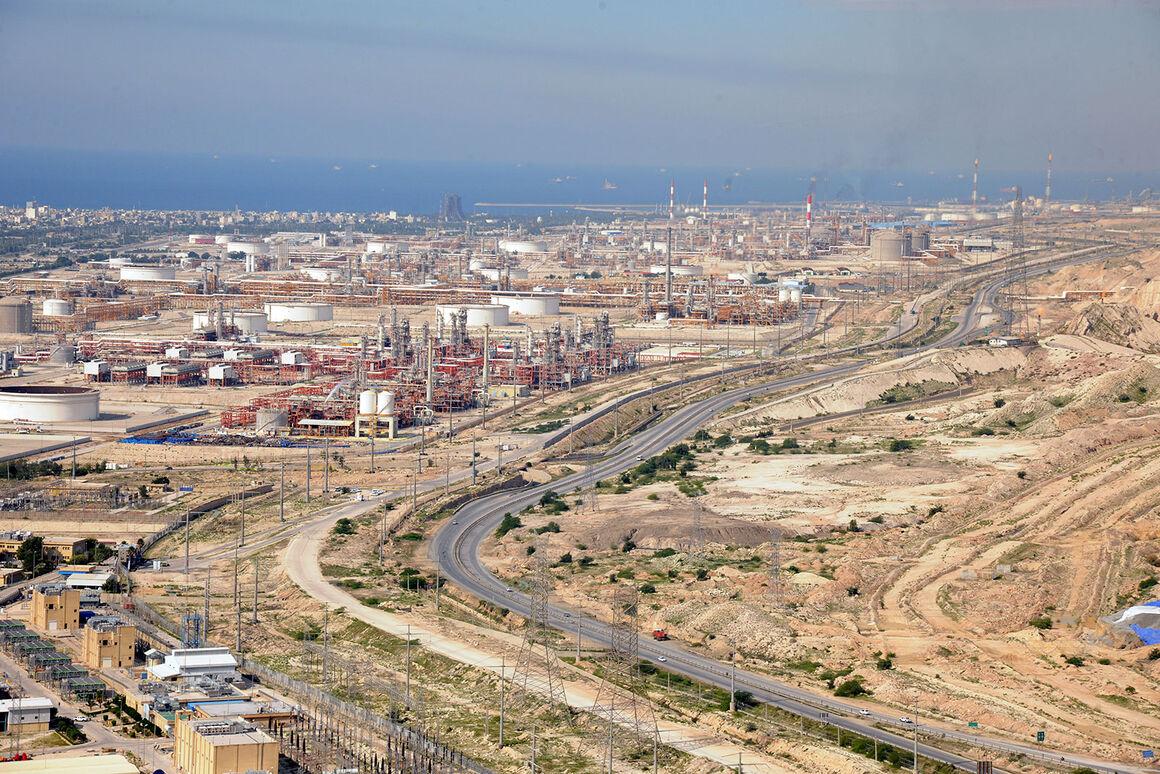 پروژههای پارس جنوبی با توان بخش داخلی راهبری میشود