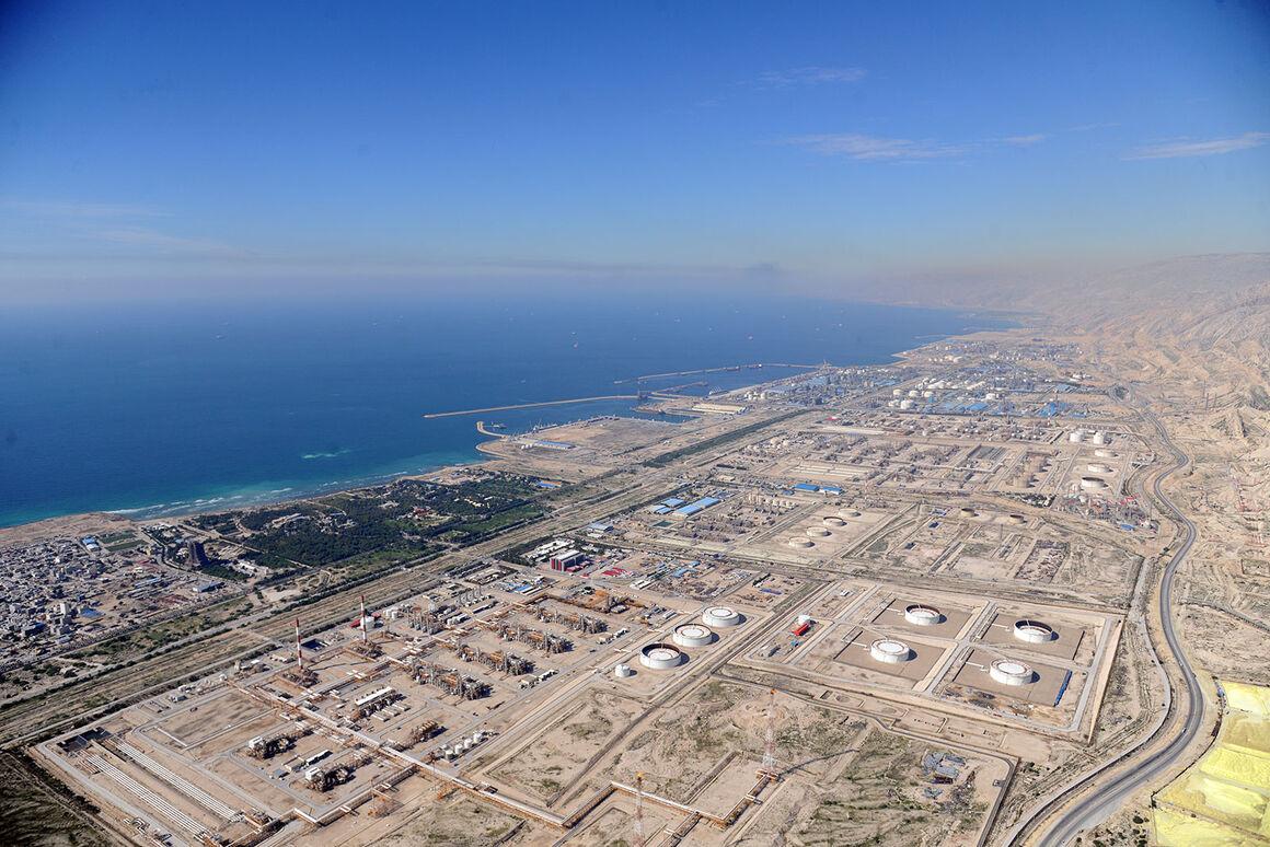 وضع تأسیسات صنعت نفت در منطقه ویژه پارس ایمن است