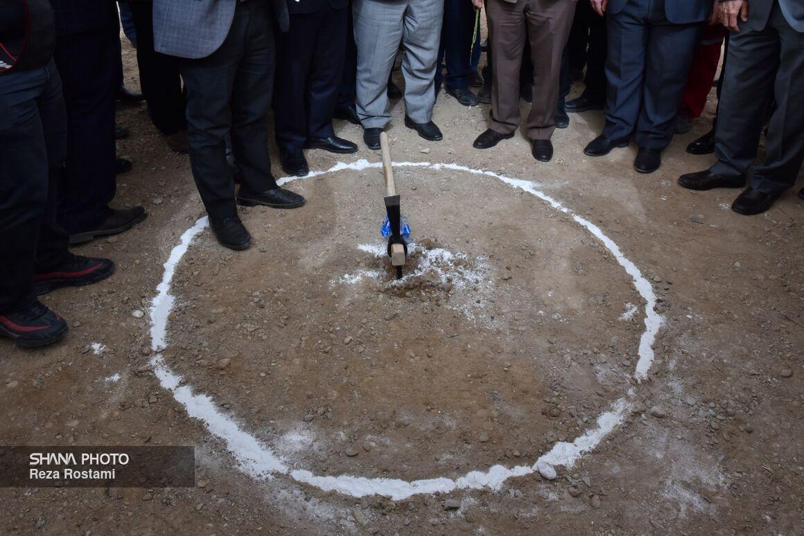 عملیات ساخت کارخانه جمعآوری گازهای همراه در غرب کارون
