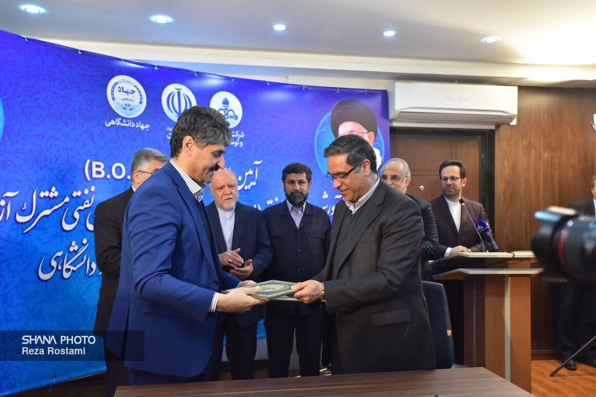 قرارداد واحد فرآورش سیار نفت در آزادگان جنوبی امضا شد