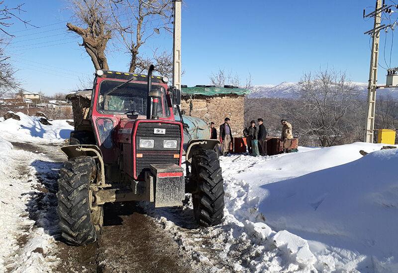 ارسال بیش از ۴۲ میلیون لیتر نفت سفید به روستاهای کردستان