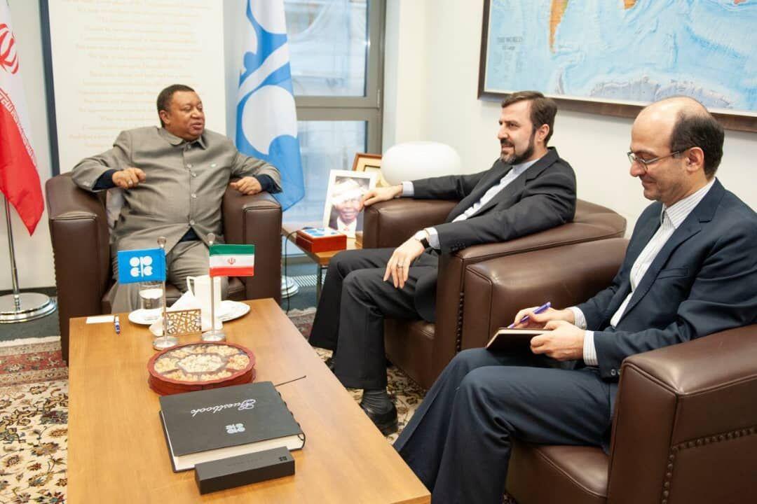 سفیر ایران و دبیرکل اوپک تحولات بازار نفت را بررسی کردند