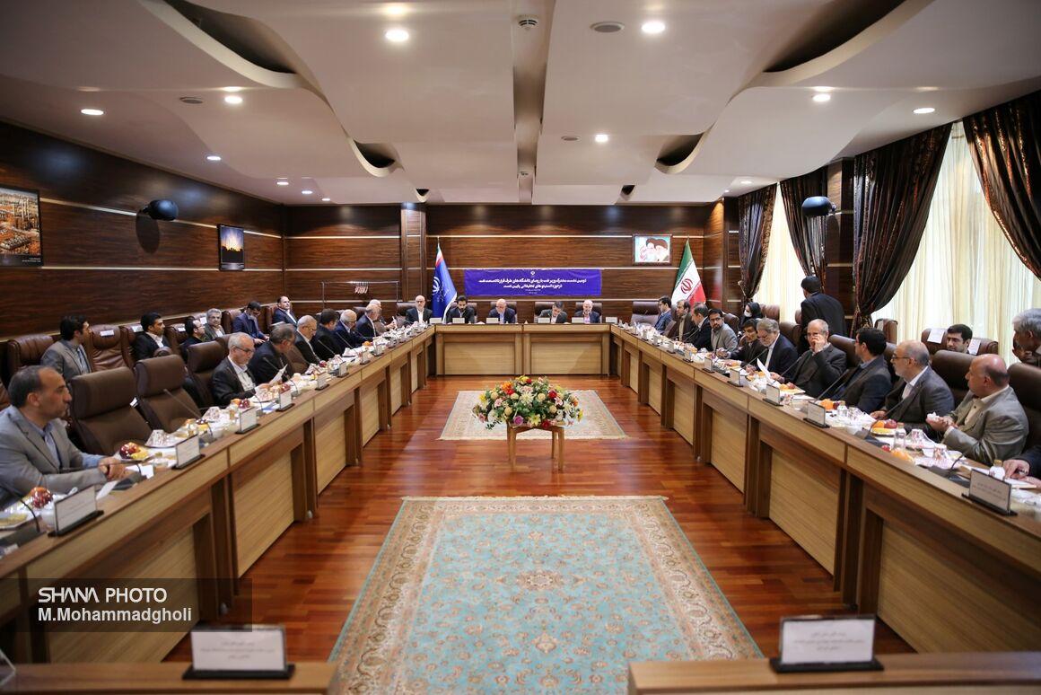 دومین نشست وزیر نفت با رؤسای دانشگاههای طرف قرارداد صنعت نفت