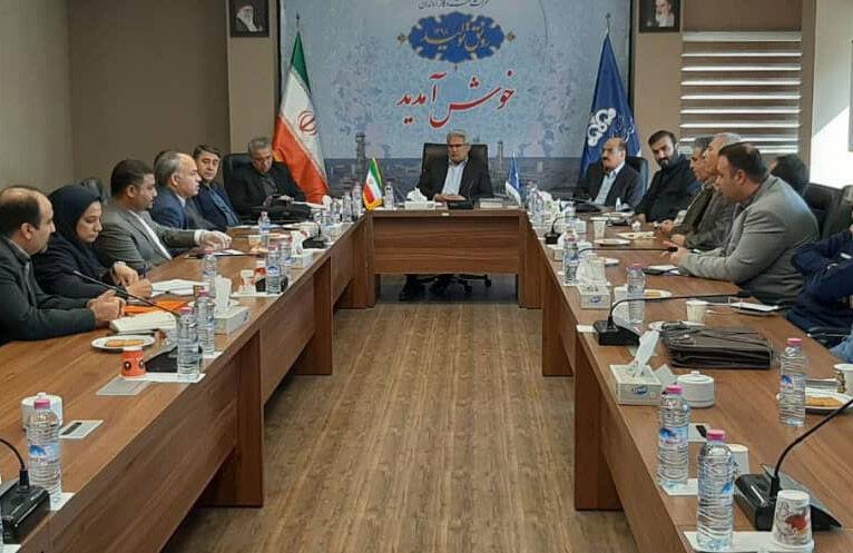 کمیته سلامت نفت و گاز اروندان تشکیل جلسه داد