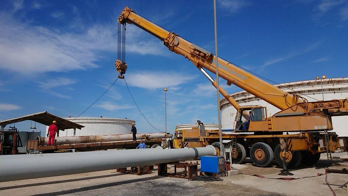 خطوط لوله نفت واحدهای نمکزدایی سلمان نوسازی شد