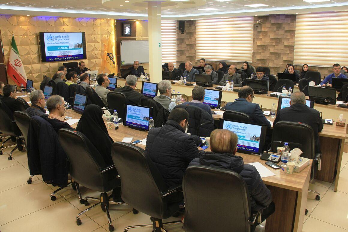 برگزاری دوره آموزشی مقابله با کرونا در شرکت گاز آذربایجان شرقی