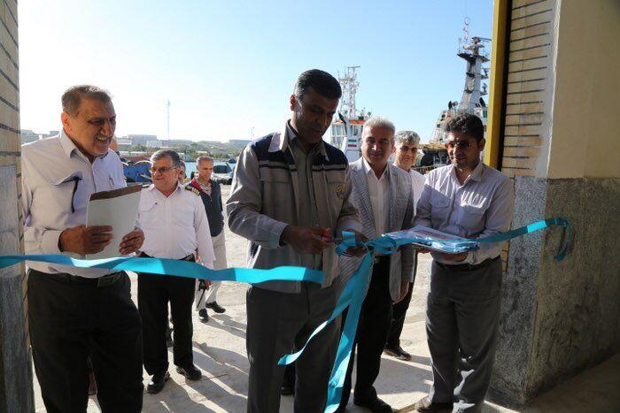 کارگاه جوشکاری عملیات دریایی پایانه نفتی خارک افتتاح شد