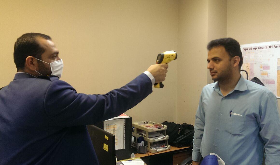 تمهیدات گسترده بهداشتی برای مقابله با انتشار ویروس کرونا در خطوط لوله شمال