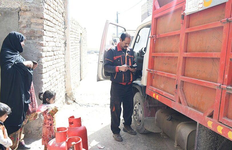 اجرای طرح توزیع الکترونیکی گاز مایع در منطقه زاهدان