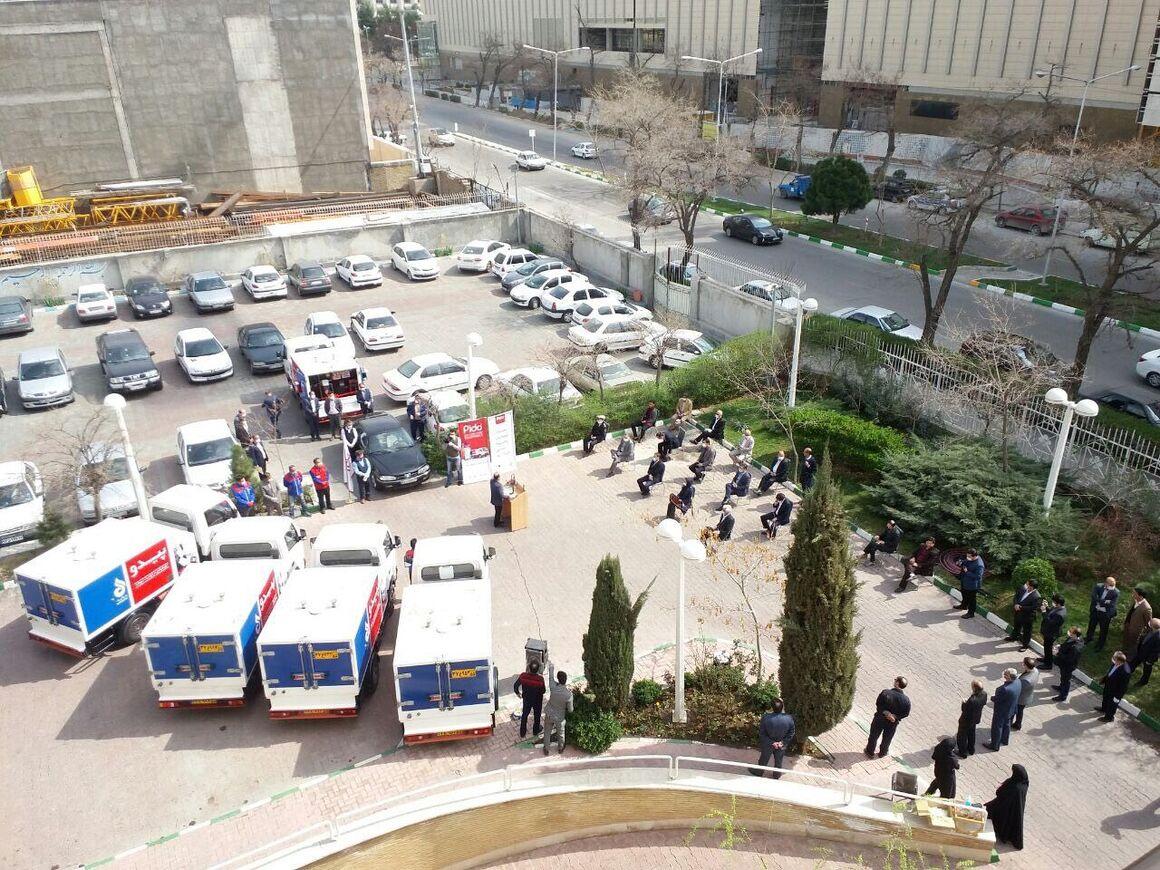 استقرار ۵ خودرو سوخترسان سیار در مشهد مقدس