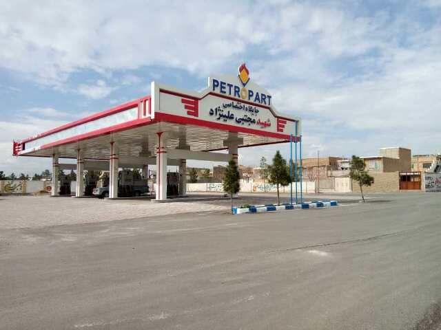 افتتاح ۴ جایگاه عرضه سوخت مایع و سیانجی در منطقه سبزوار