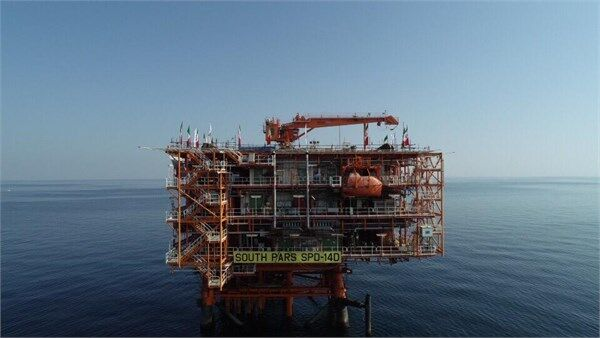 Iran Invests $2.5b in South Pars Phase 14 Offshore Section