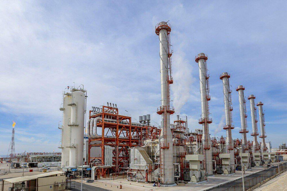 South Pars Refinery Yields 10 bcm Gas in 7 Months