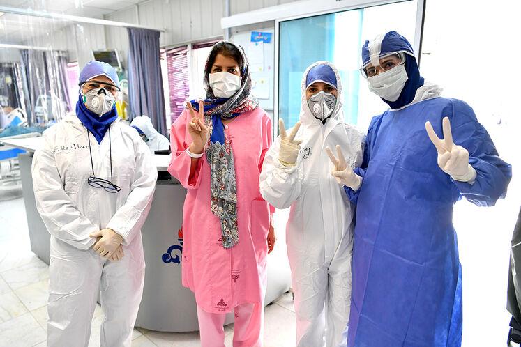 COVID-19 Section, Tehran Oil Hospital