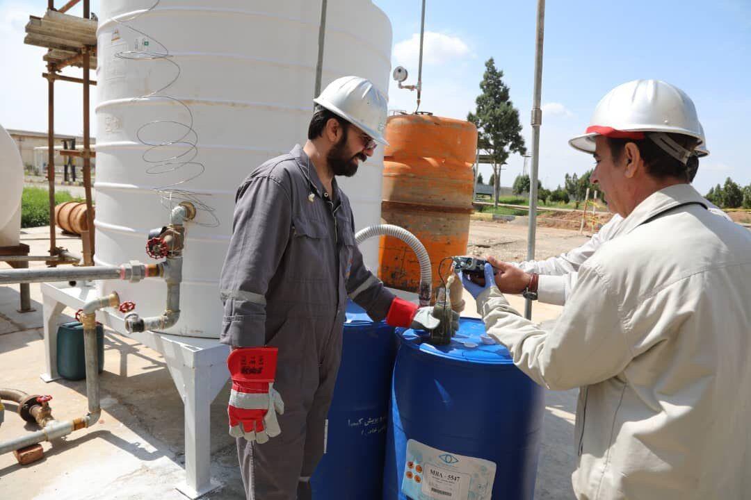 تولید آب ژاول در پالایشگاه تهران
