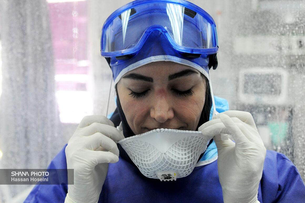 تلاشهای جهادگران عرصه سلامت در بیمارستان نفت تهران (۲)