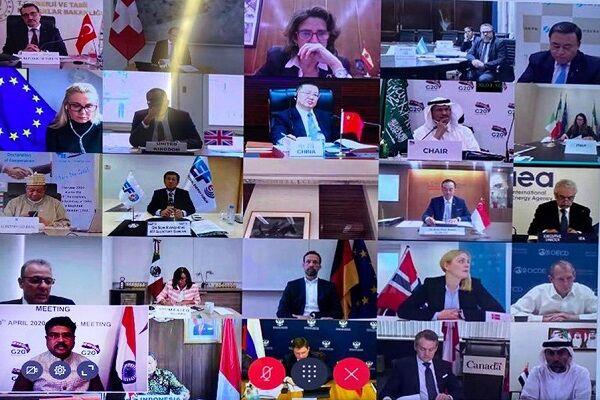 بیانیه پایانی نشست فوقالعاده وزیران نفت و انرژی G۲۰