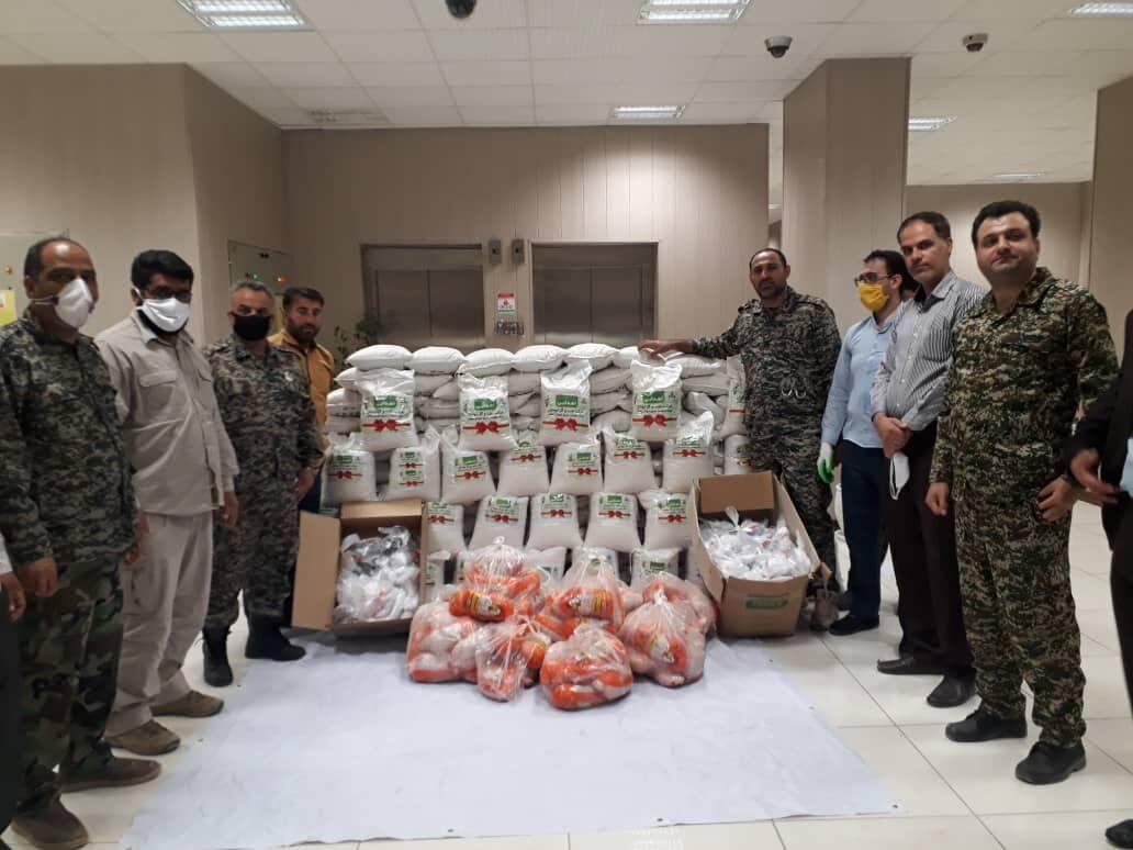 اروندان ٤٠٠ بسته کمک معیشتی در خرمشهر توزیع کرد