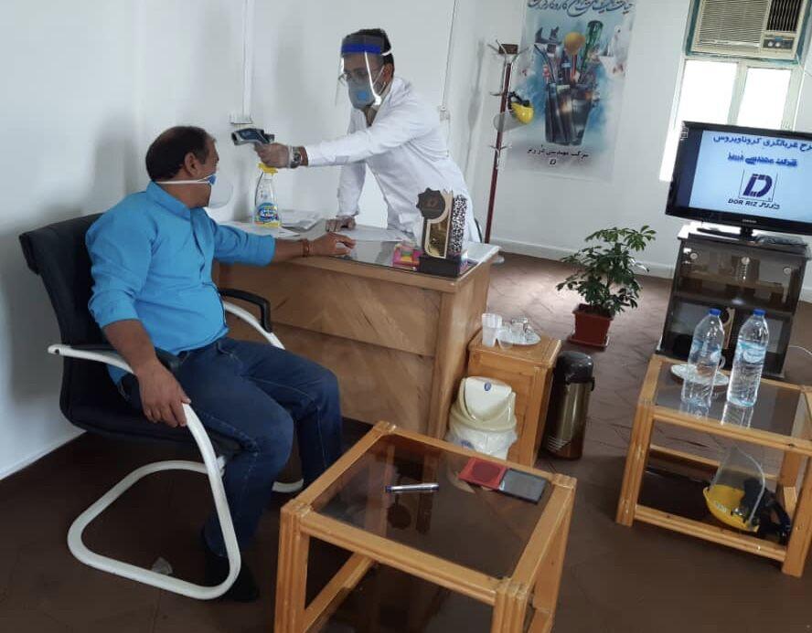 نگاهی به اقدامهای کنترلی پتروشیمی آپادانا خلیجفارس در مقابله با کرونا
