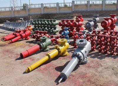 مناطق نفتخیز جنوب بیش از هزار تجهیز سرچاهی را بازسازی کرد