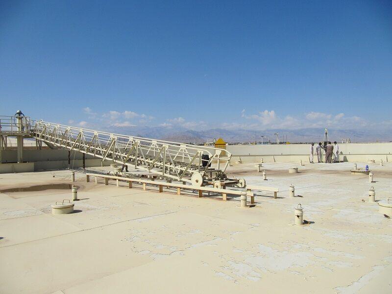 بهرهبرداری مخزن ۱۵۰۳ مرکز انتقال نفت یزد